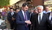 Bakan Kurum, esnaf ziyaretlerinde bulundu, vatandaşlarla sohbet etti