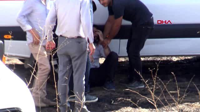 DİYARBAKIR Lice'de otomobil şarampole devrildi 1 ölü, 4 ağır yaralı-1