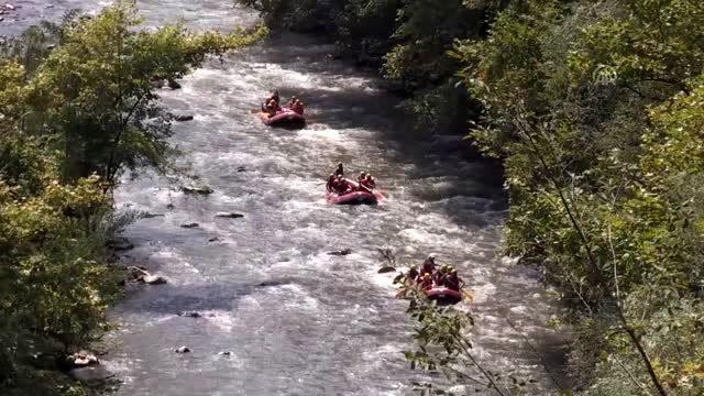 Rafting turları hız kazandı - DÜZCE