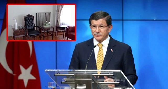 Ahmet Davutoğlu'nun Ankara'daki yeni parti binası ilk kez görüntülendi