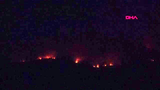 Bodrum'daki orman yangınları ile ilgili belediye başkanlarından açıklama