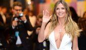 Dünyaca ünlü model Heidi Klum, göğüs dekolteli pozunu paylaştı