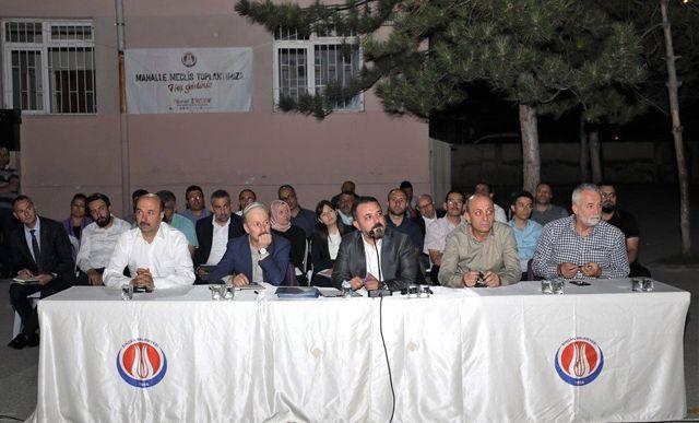 Başkan Ercan, Plevne Mahallesi sakinleriyle buluştu
