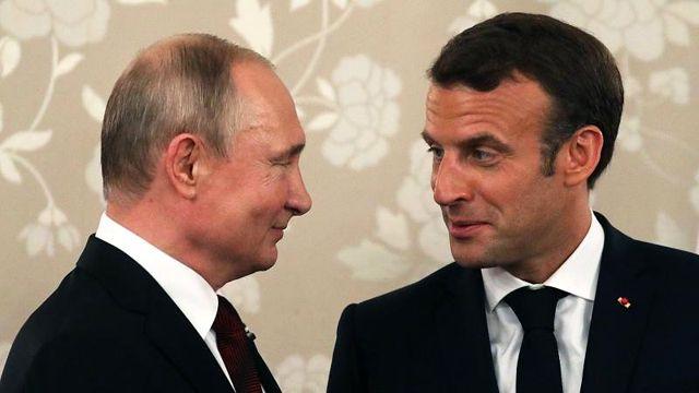 Macron ve Putin G7 zirvesi öncesi Ukrayna, Suriye ve İran'ı görüşecek
