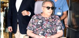 Mehmet Ali Erbil, 9 ay sonra ilk kez ayağa kalktı