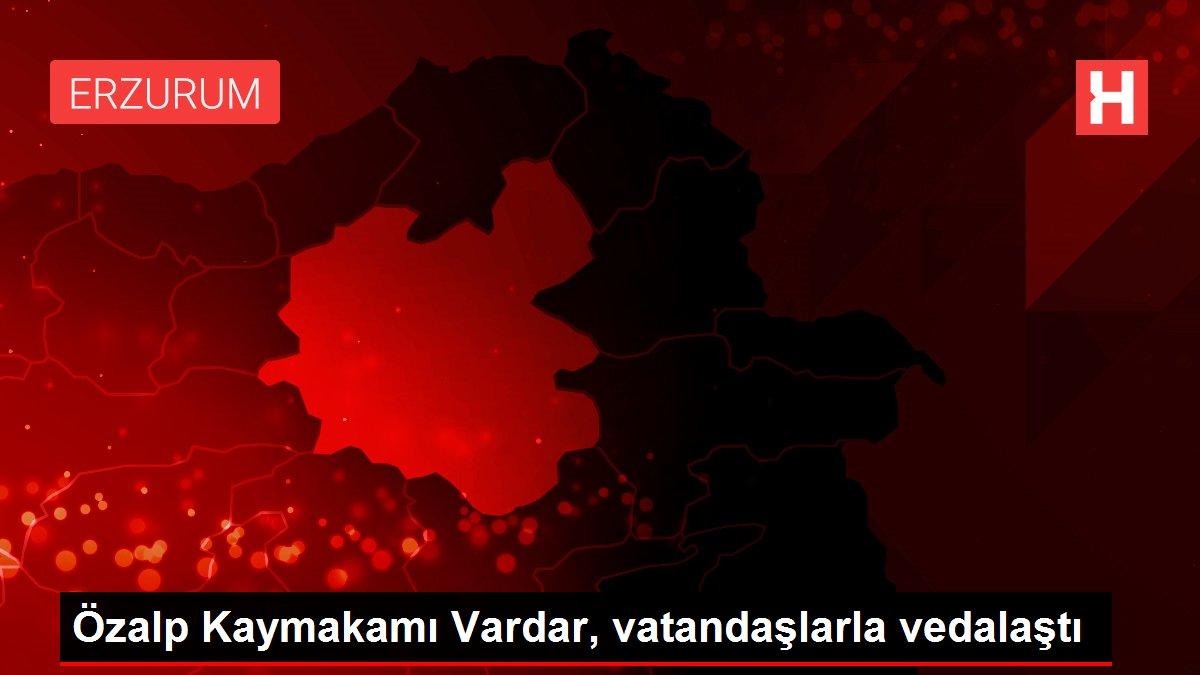 Özalp Kaymakamı Vardar, vatandaşlarla vedalaştı