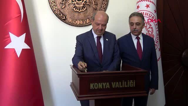 Konya KKTC Başbakanı Tatar Doğu Akdeniz'deki zenginliklerin paylaşımı masada hallolabilir-2