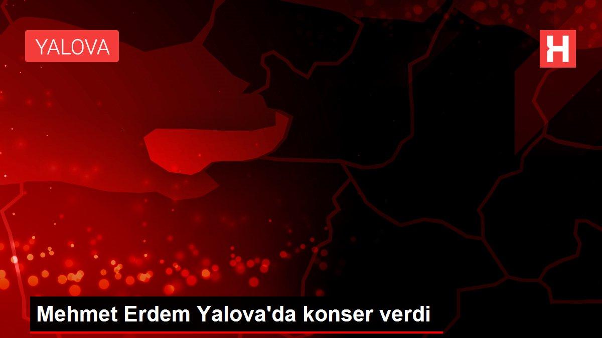 Mehmet Erdem Yalova'da konser verdi