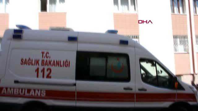 SİVAS POLİSLERİ GÖRÜNCE 3'ÜNCÜ KATTAN ÇARŞAF SARKITIP KAÇTI