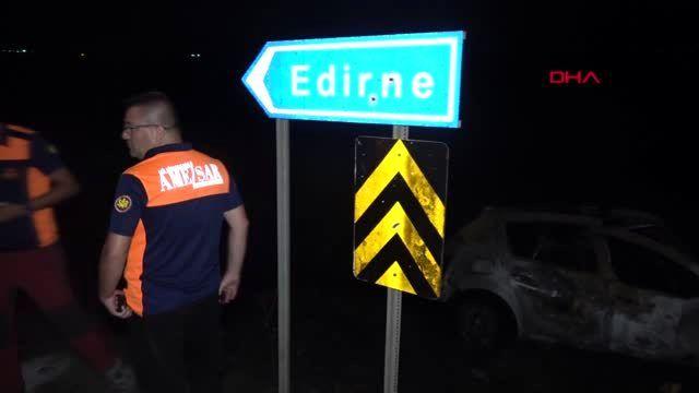 Edirne'de kaza: 3'ü çocuk 8 yaralı