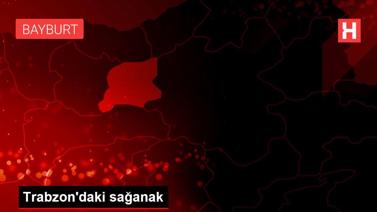 Trabzon'daki sağanak