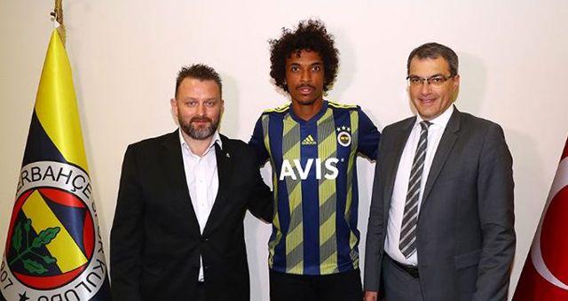 Fenerbahçe, Luiz Gustavo'yu KAP'a bildirdi!