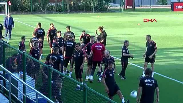 Spor a milli takım'da andorra ve moldova maçlarının hazırlıkları başladı