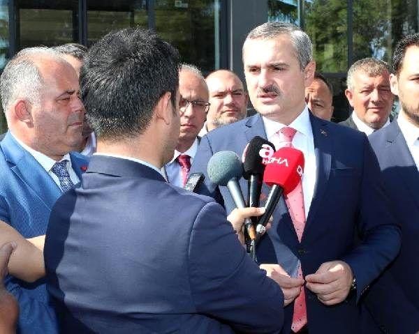 Ak parti il başkanı şenocak, çatalca belediyesi'ni ziyaret etti