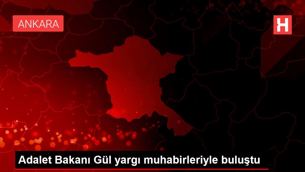 Adalet Bakanı Gül yargı muhabirleriyle buluştu