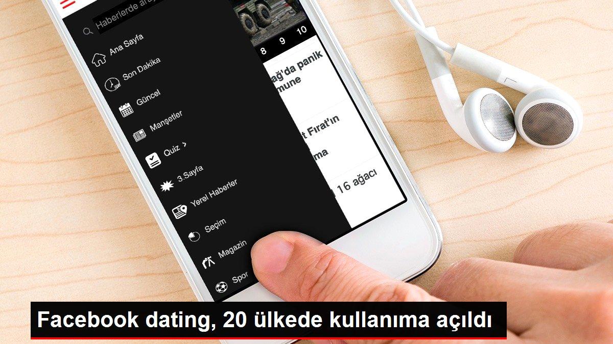 Facebook dating, 20 ülkede kullanıma açıldı
