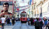 Taksim'de tramvay durağında oturan genci bıçaklayarak öldürdüler