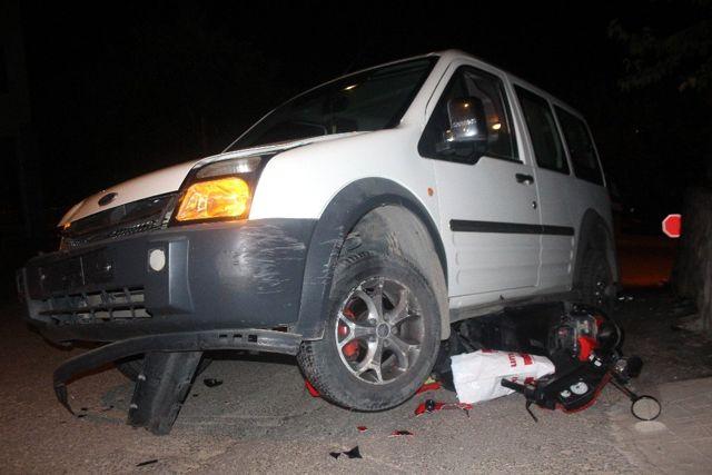 Elazığ'da feci kaza: 1 ölü, 1 ağır yaralı