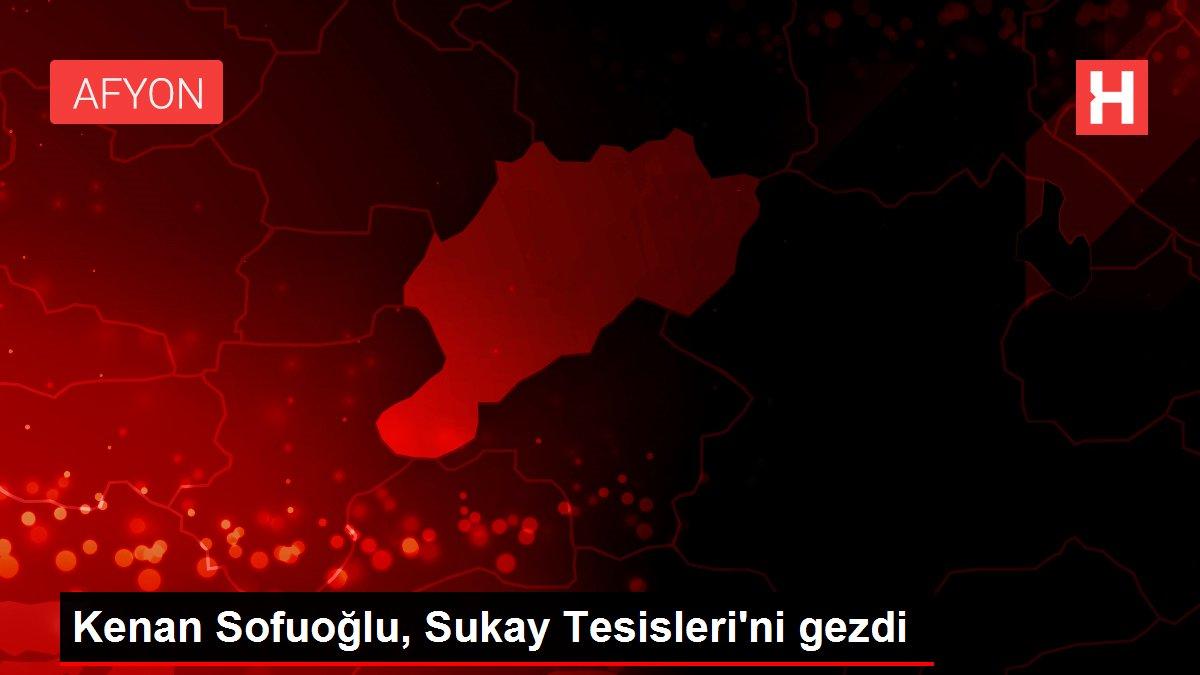 Kenan Sofuoğlu, Sukay Tesisleri'ni gezdi