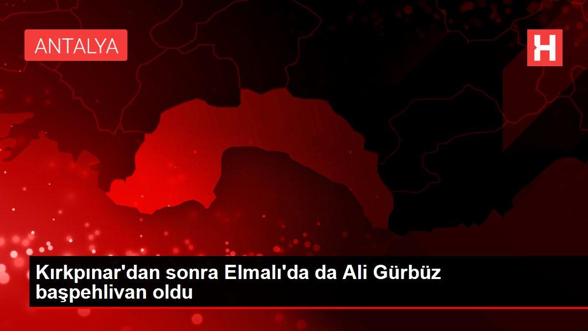 Kırkpınar'dan sonra Elmalı'da da Ali Gürbüz başpehlivan oldu