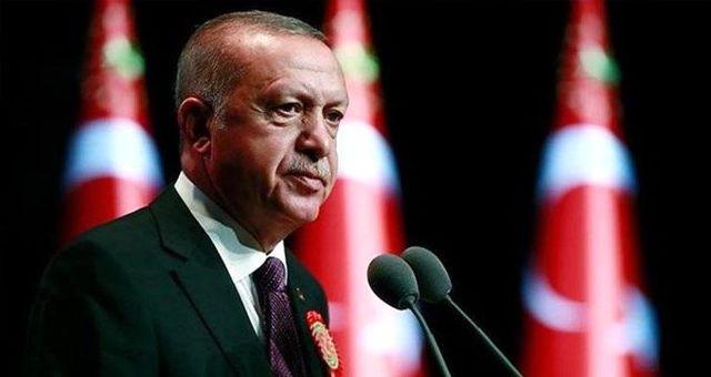 Cumhurbaşkanı Erdoğan'dan dikkat çeken