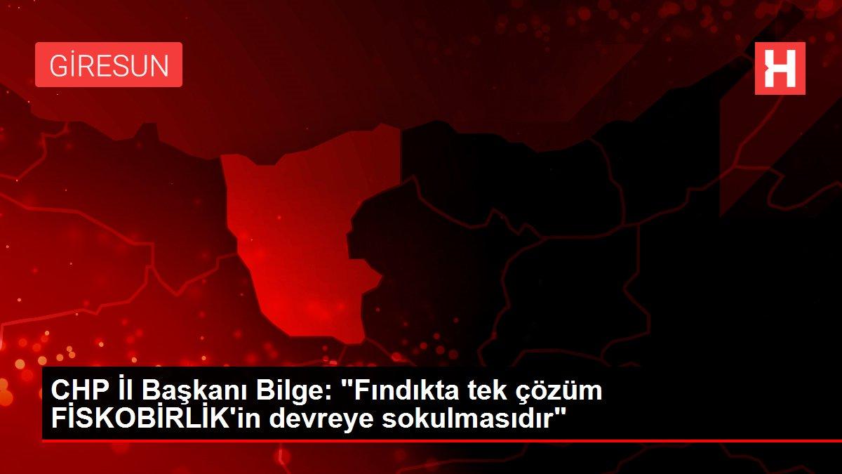 CHP İl Başkanı Bilge: