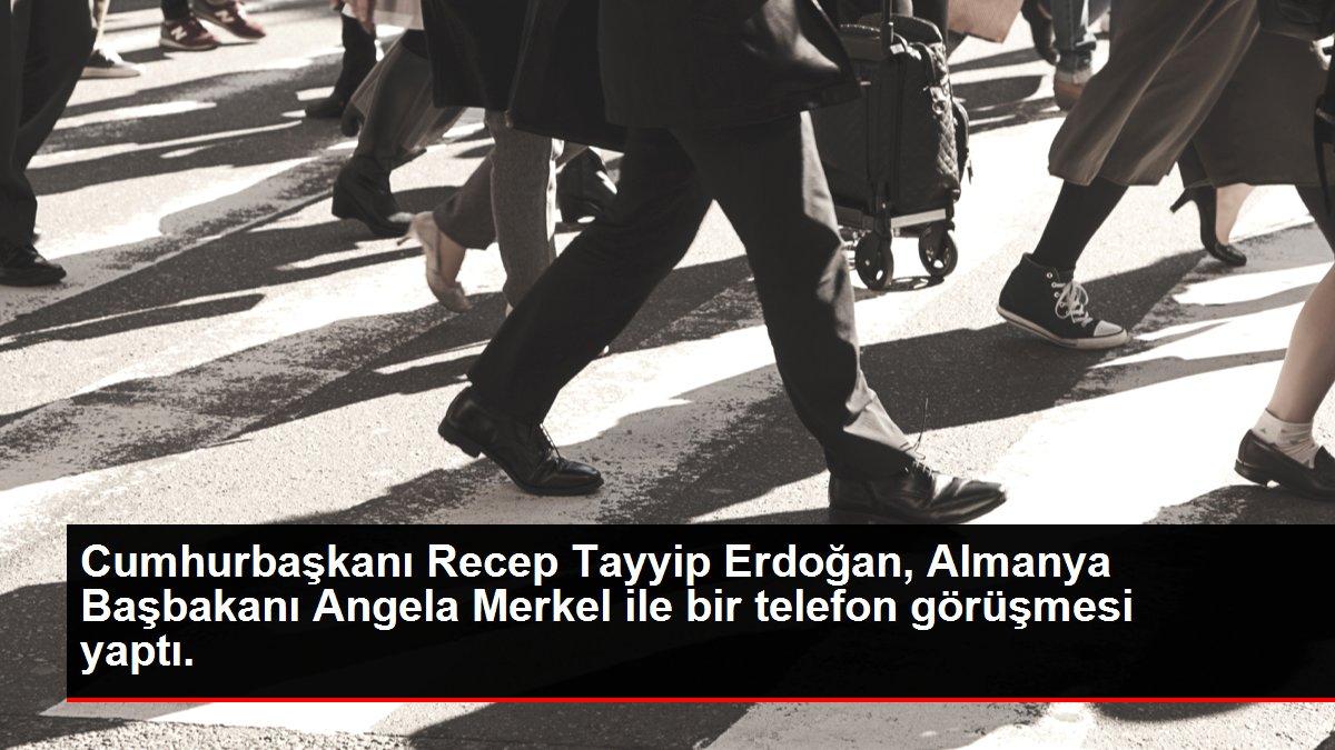 Cumhurbaşkanı Recep Tayyip Erdoğan, Almanya Başbakanı Angela Merkel ile bir telefon görüşmesi yaptı.