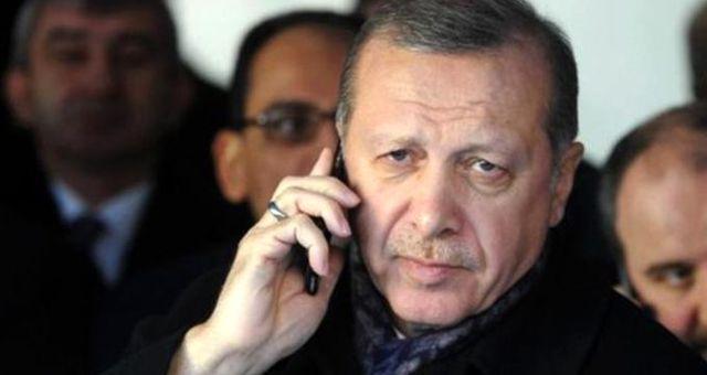 Cumhurbaşkanı Erdoğan, Almanya Başbakanı Angela Merkel ile telefonda görüştü