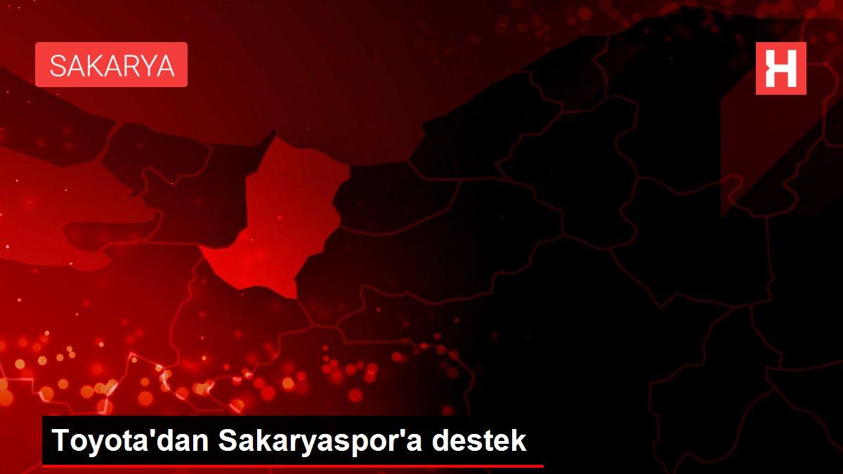 Toyota'dan Sakaryaspor'a destek