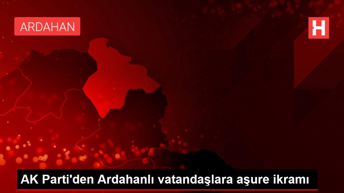 AK Parti'den Ardahanlı vatandaşlara aşure ikramı