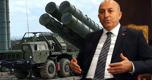 Bakan Çavuşoğlu: S-400'leri çalıştıracağız