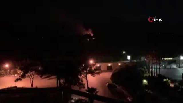 - Çatalköy'de askeri bölge içindeki mühimmat deposunda patlama