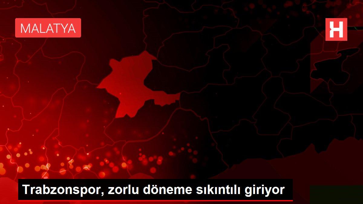 Trabzonspor, zorlu döneme sıkıntılı giriyor