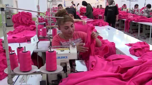 Siirt'te kurulan tekstil atölyesi 200 işçi alacak