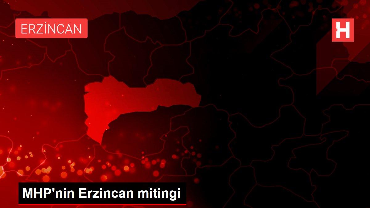 MHP'nin Erzincan mitingi