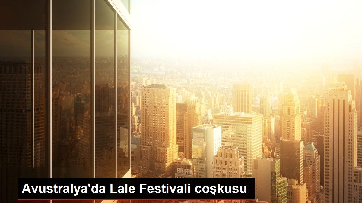 Avustralya'da Lale Festivali coşkusu