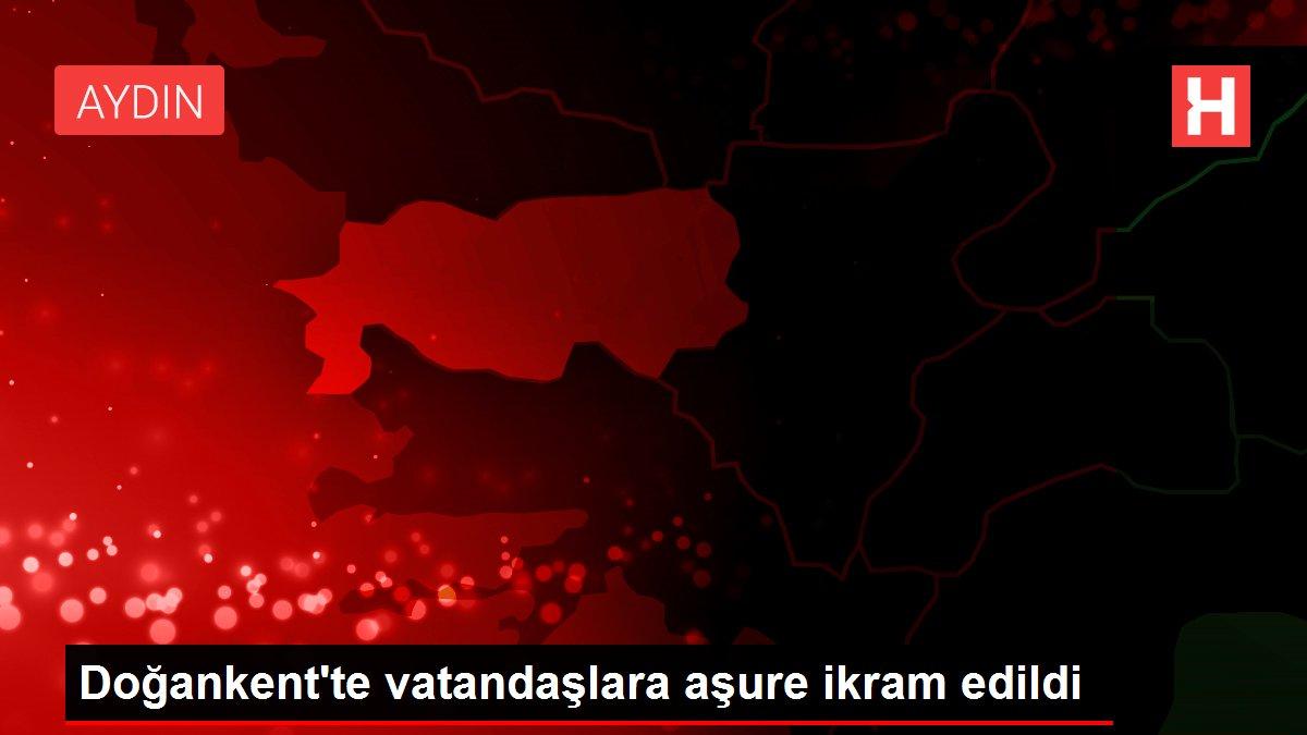 Doğankent'te vatandaşlara aşure ikram edildi