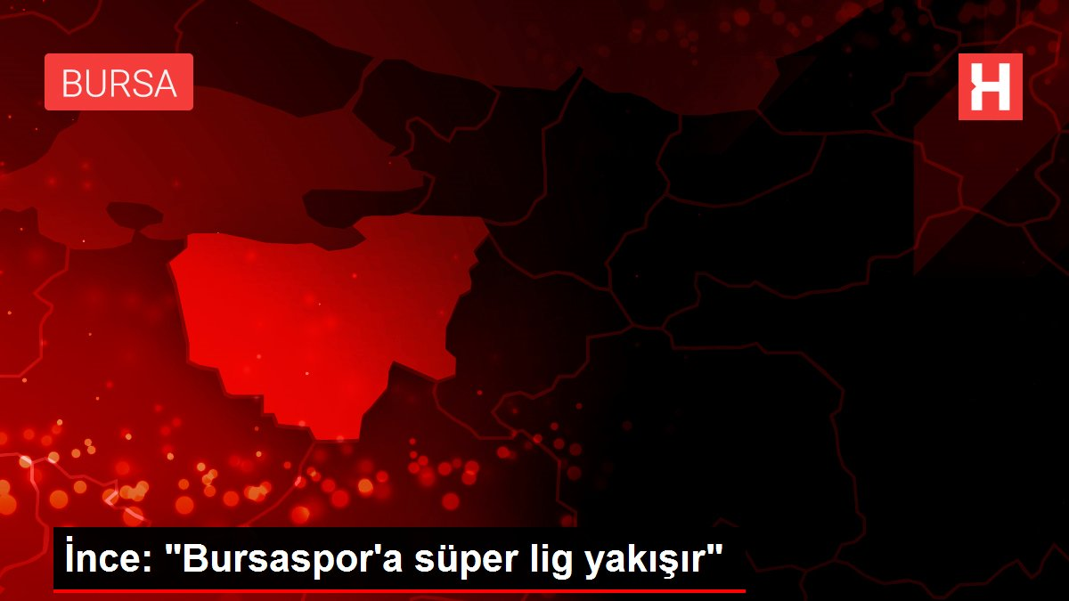 İnce: