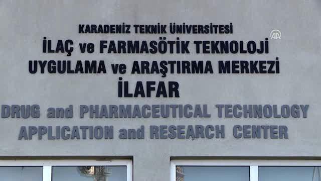 KTÜ İLAFAR'da ilaç etkin maddeleri ve formülasyonları geliştiriliyor