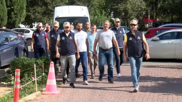 Antalya 7 ilde fetö operasyonu 13 gözaltı