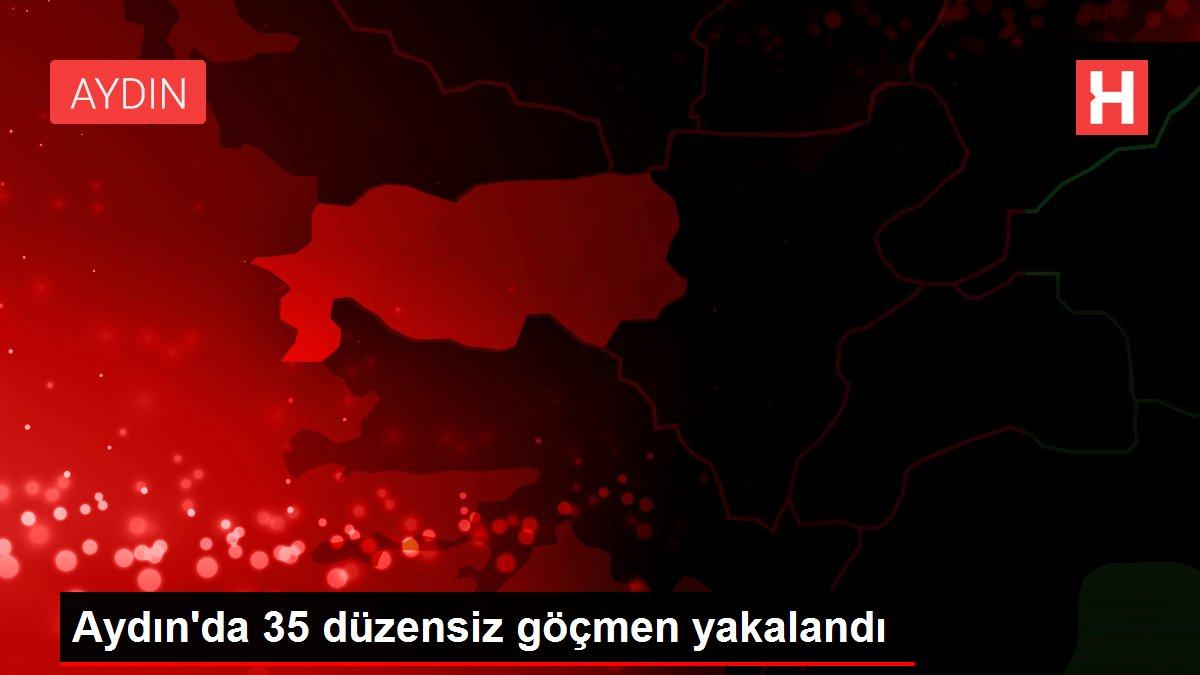 Aydın'da 35 düzensiz göçmen yakalandı