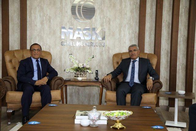Başkan Güder'den MASKİ'ye ziyaret - Haberler