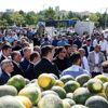Kahramankazan'da kavun pazarı açıldı