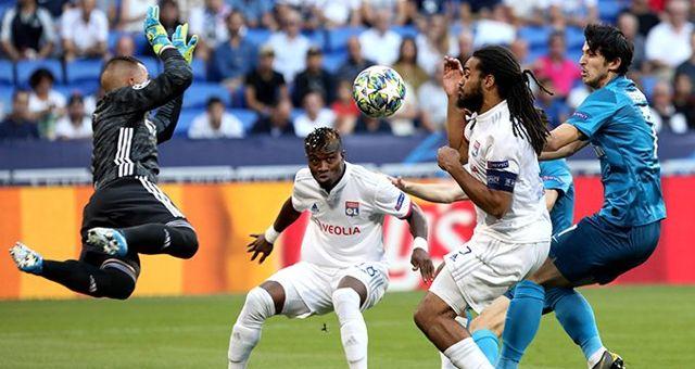 Lyon, Zenit ile yenişemedi!