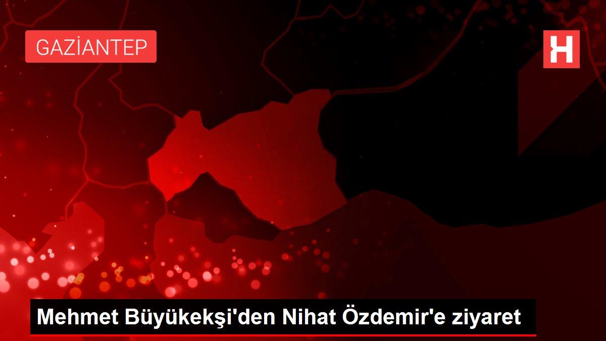 Mehmet Büyükekşi'den Nihat Özdemir'e ziyaret