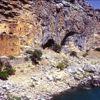 Su altında kalan tarihi manastır görüntülendi