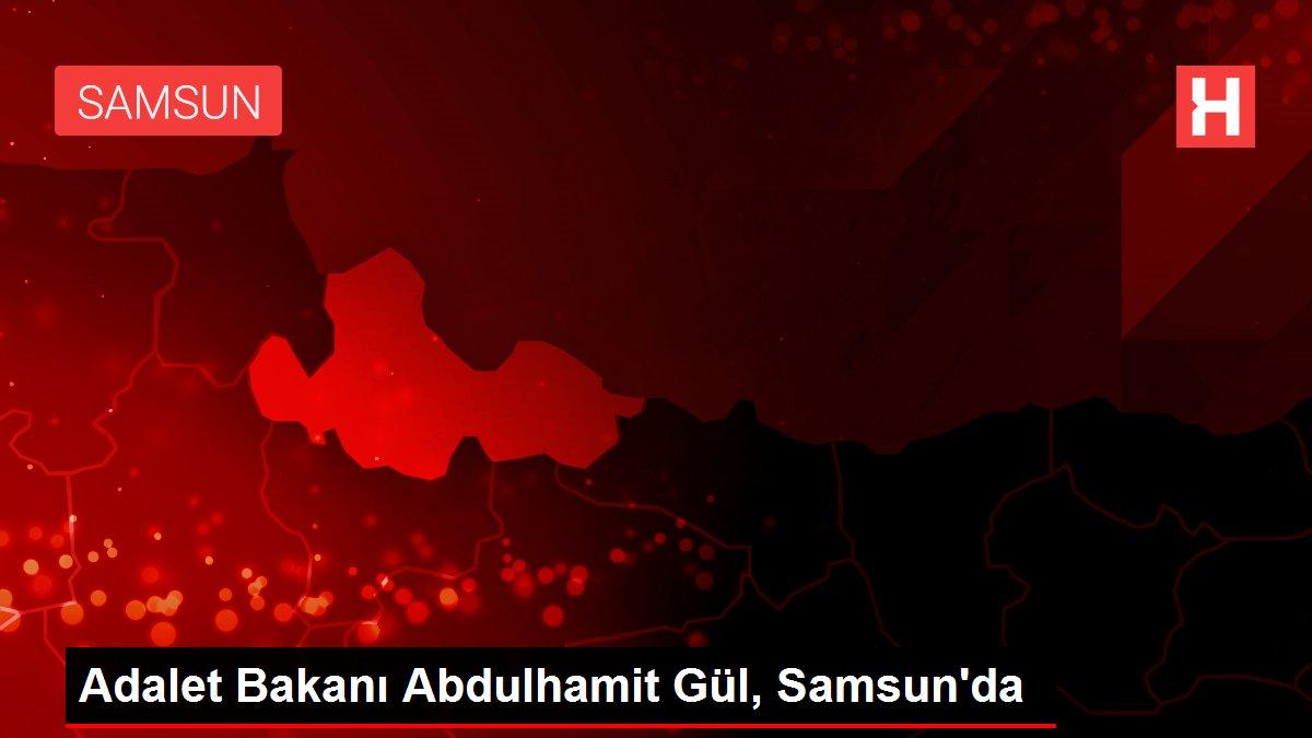 Adalet Bakanı Abdulhamit Gül, Samsun'da
