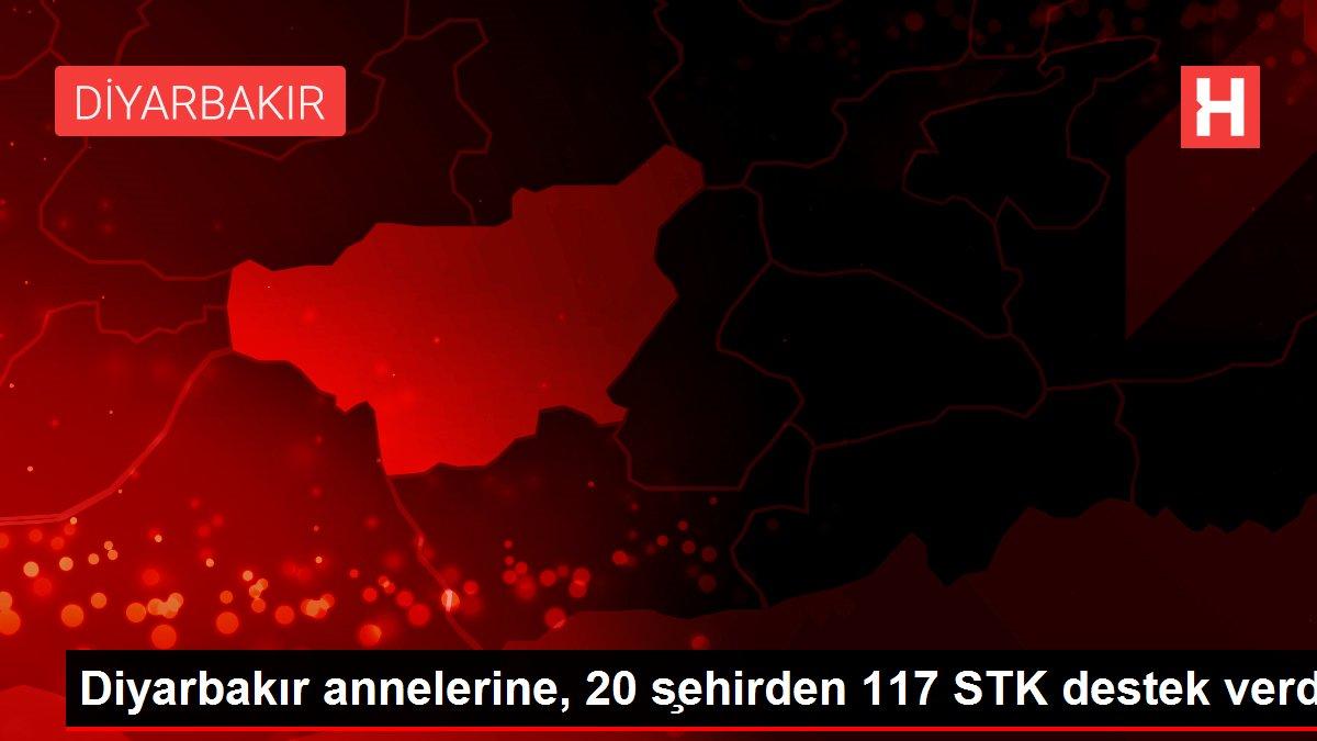 Diyarbakır annelerine, 20 s¸ehirden 117 STK destek verdi
