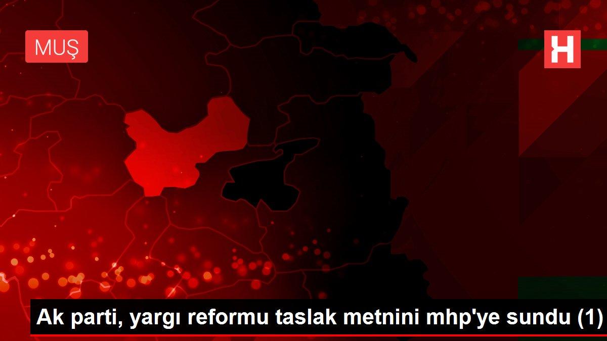 Ak parti, yargı reformu taslak metnini mhp'ye sundu (1)