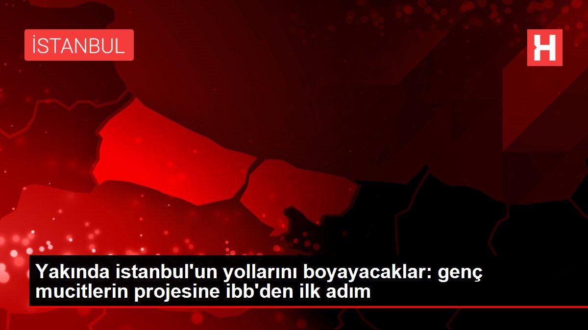 Yakında istanbul'un yollarını boyayacaklar: genç mucitlerin projesine ibb'den ilk adım